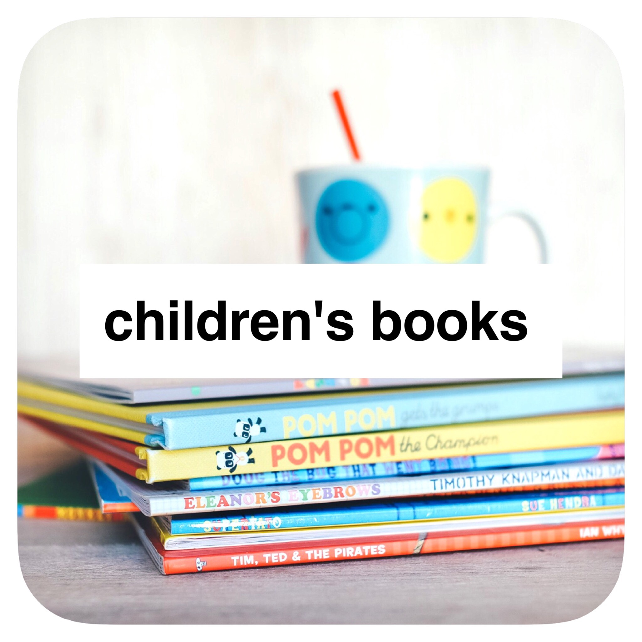 Children's book list from @how2playtoday