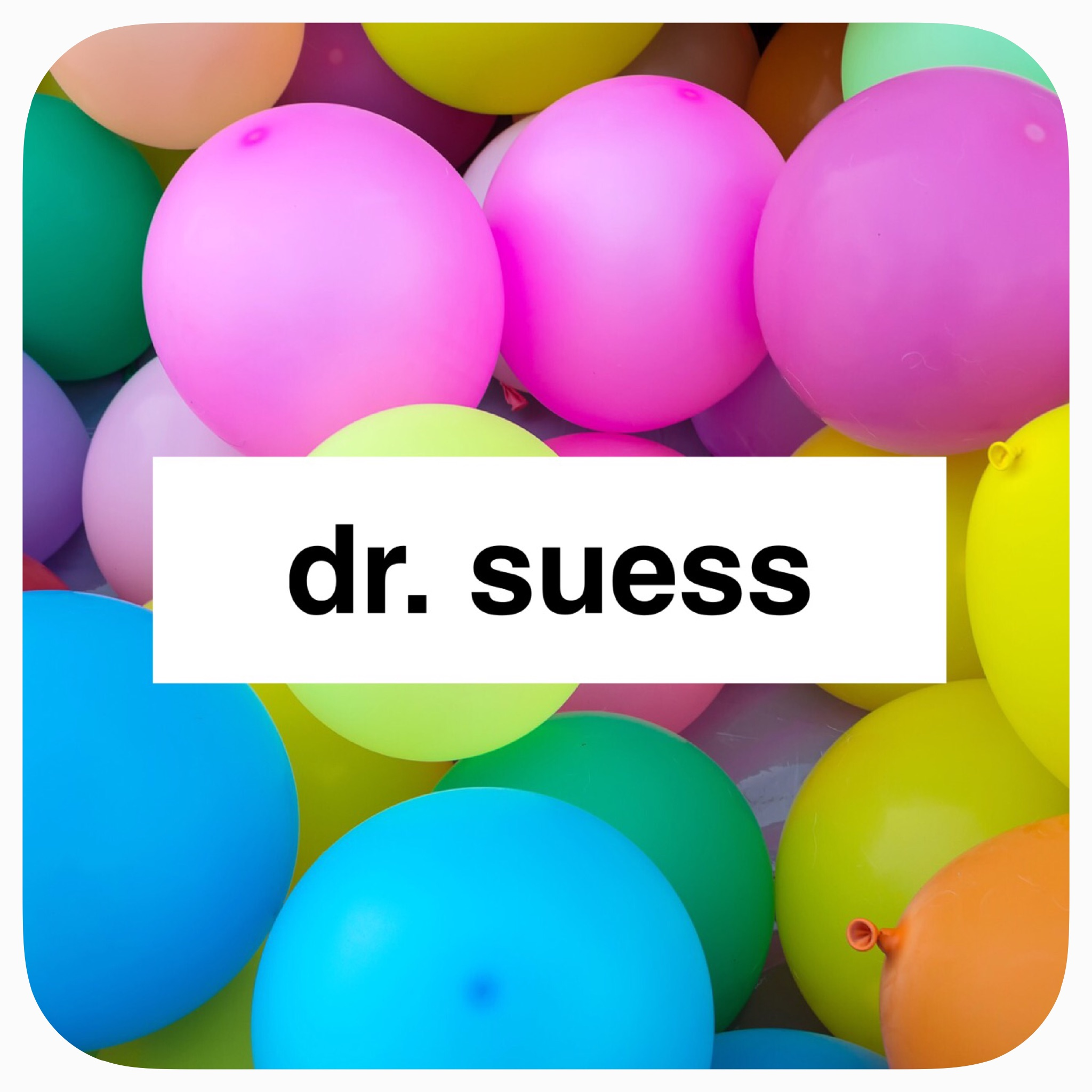 thematic study on Dr. Suess