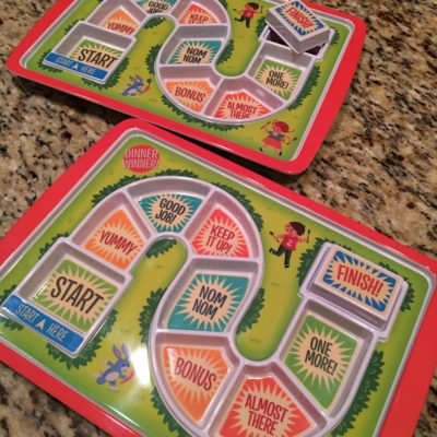 Make dinner time fun for picky eaters with these game plates ~ How2play.today