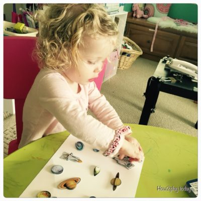 Art Hacks for Toddlers:  stickers and a blank piece of paper is a fantastic way to allow your toddler to be creative and work on fine motor skills