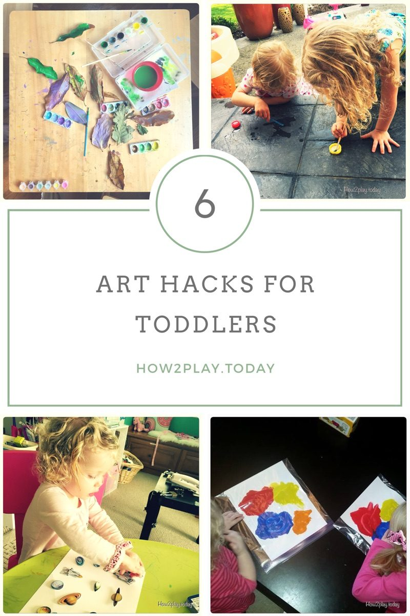 Art Hacks for Toddlers