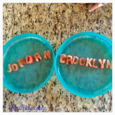 Healthy snacks using cookie cutters as part of our Body & Nutrition unit for January @how2playtoday