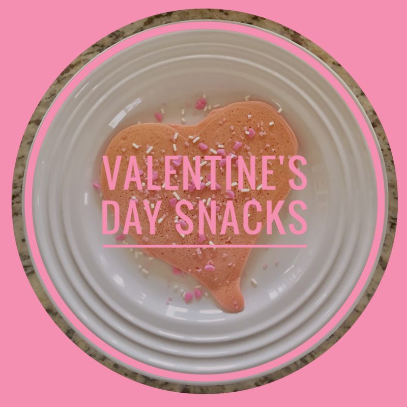 Valentine snacks are easy to make and add some fun to your loved ones.