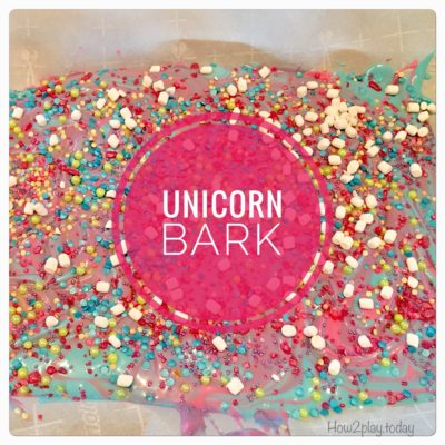 How to make Unicorn Bark for your next celebration.