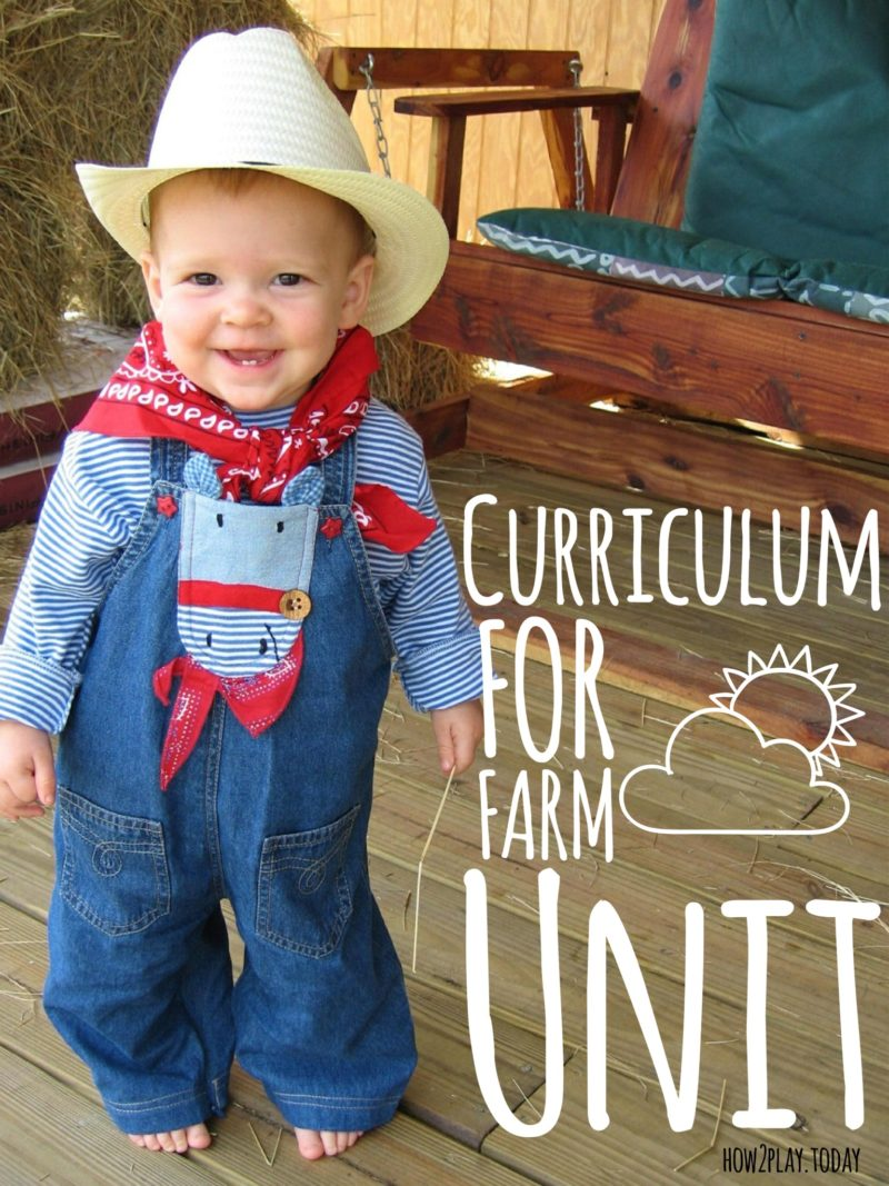 Farm Unit Curriculum from @how2playtoday.