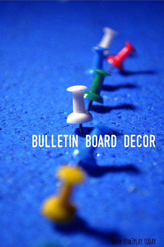 Bulletin Board decoration ideas.