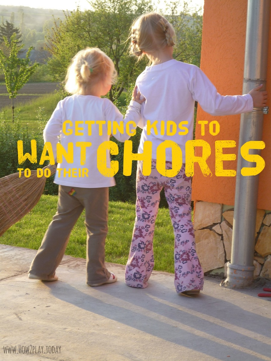 Getting kids to want to do their chores can be simple and fun! Encourage them through creativity, demonstrate how it should be done, and watch them gain excitement and confidence as they learn.