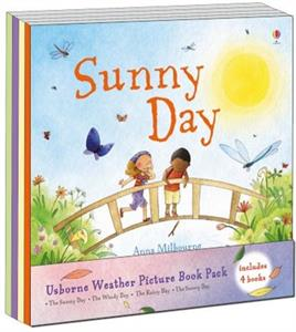 Sunny Day - preschool book about weather.