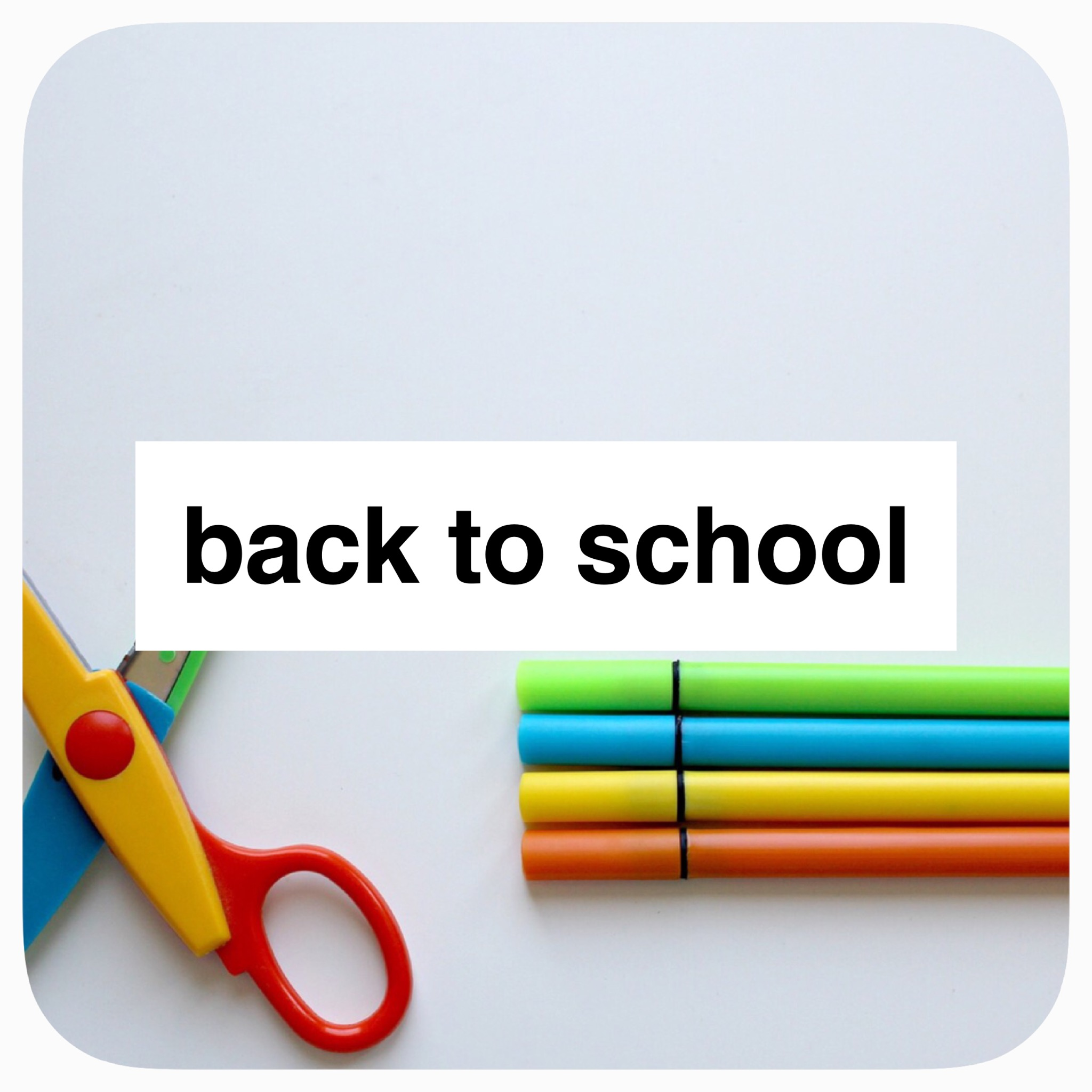 Holiday Play: Back to School