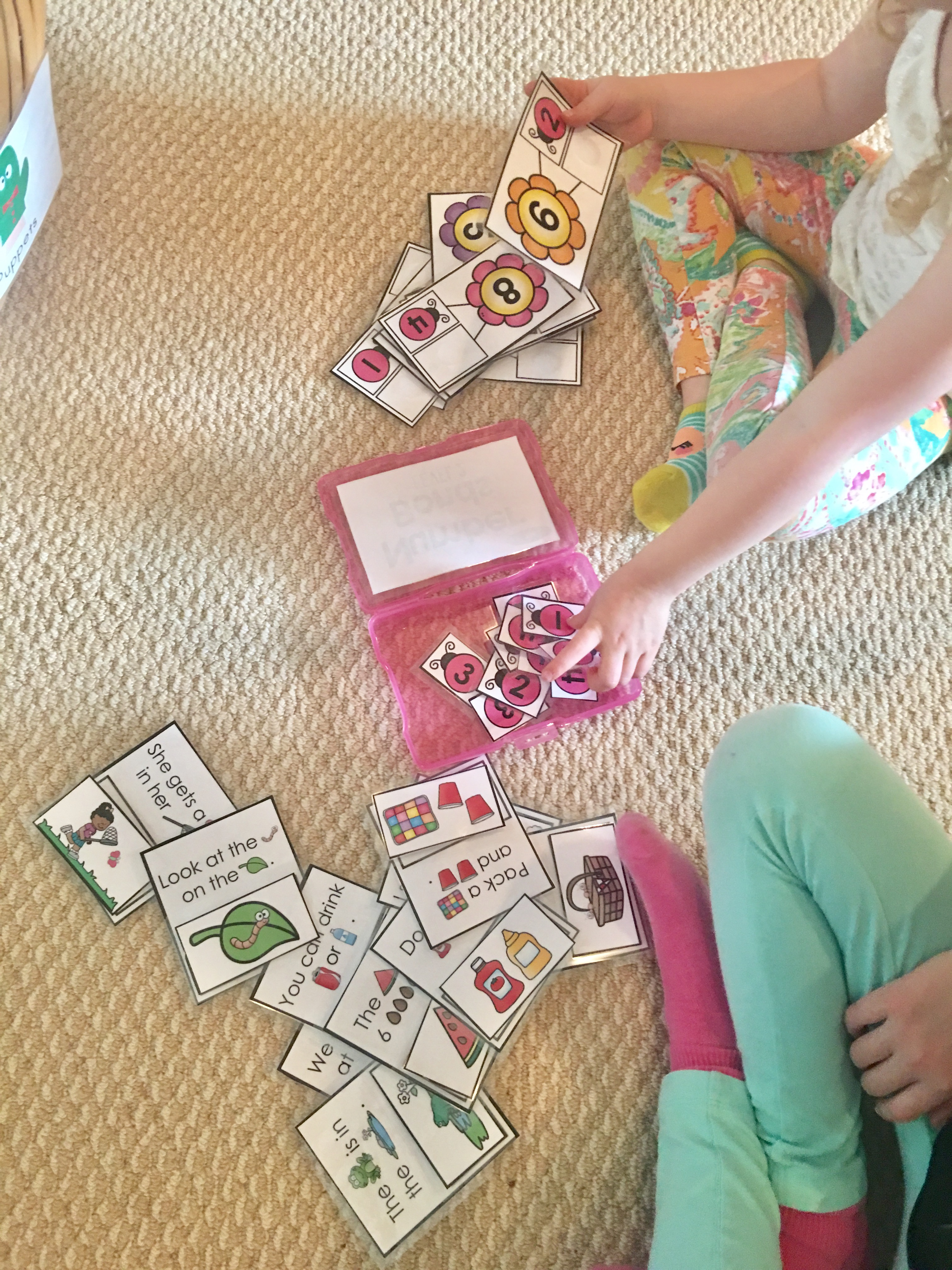 """Task Boxes promote independent learning, support basic concepts, and the kids really enjoy """"playing"""" with them. Who says learning has to be boring."""