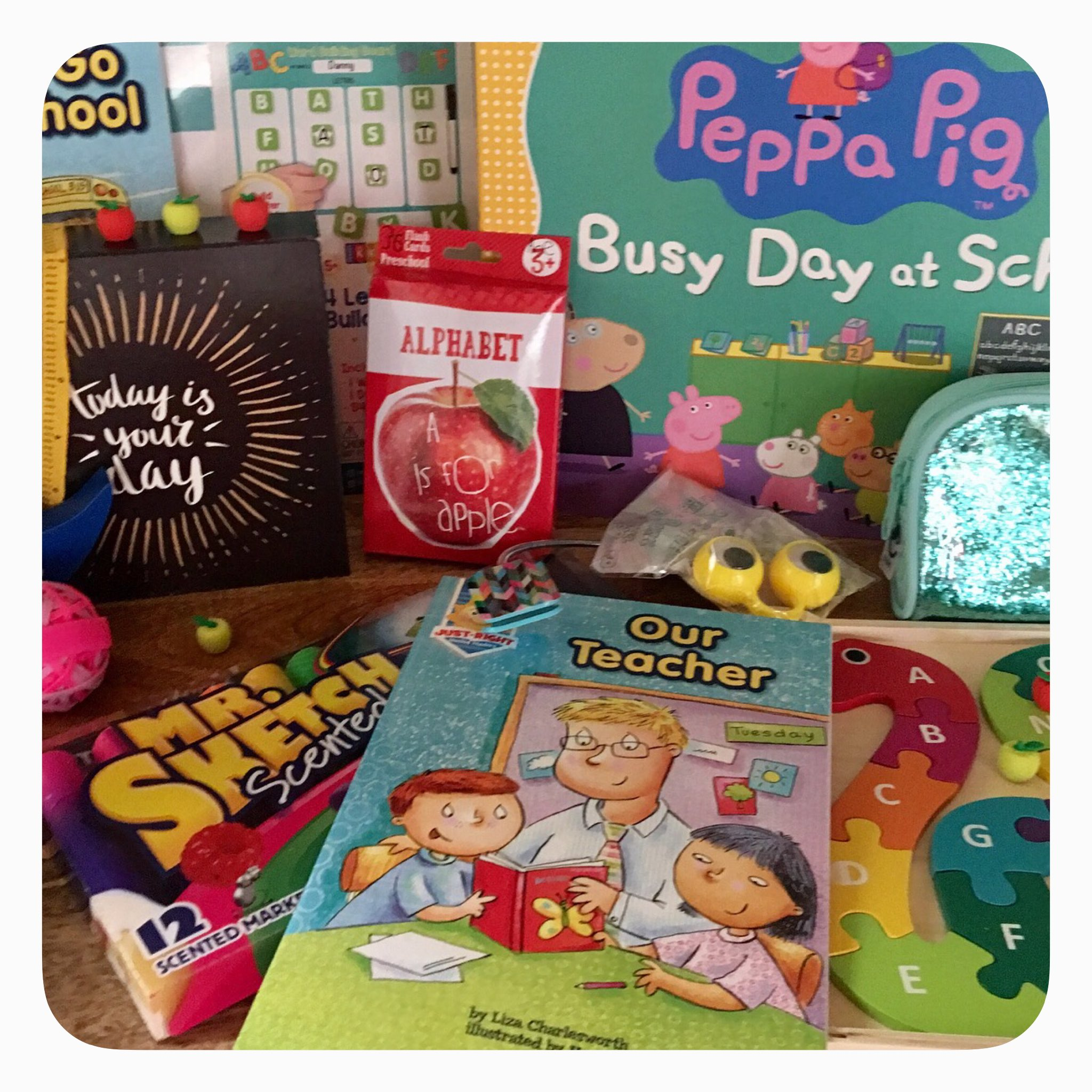 Back to School: Pre-K school supplies