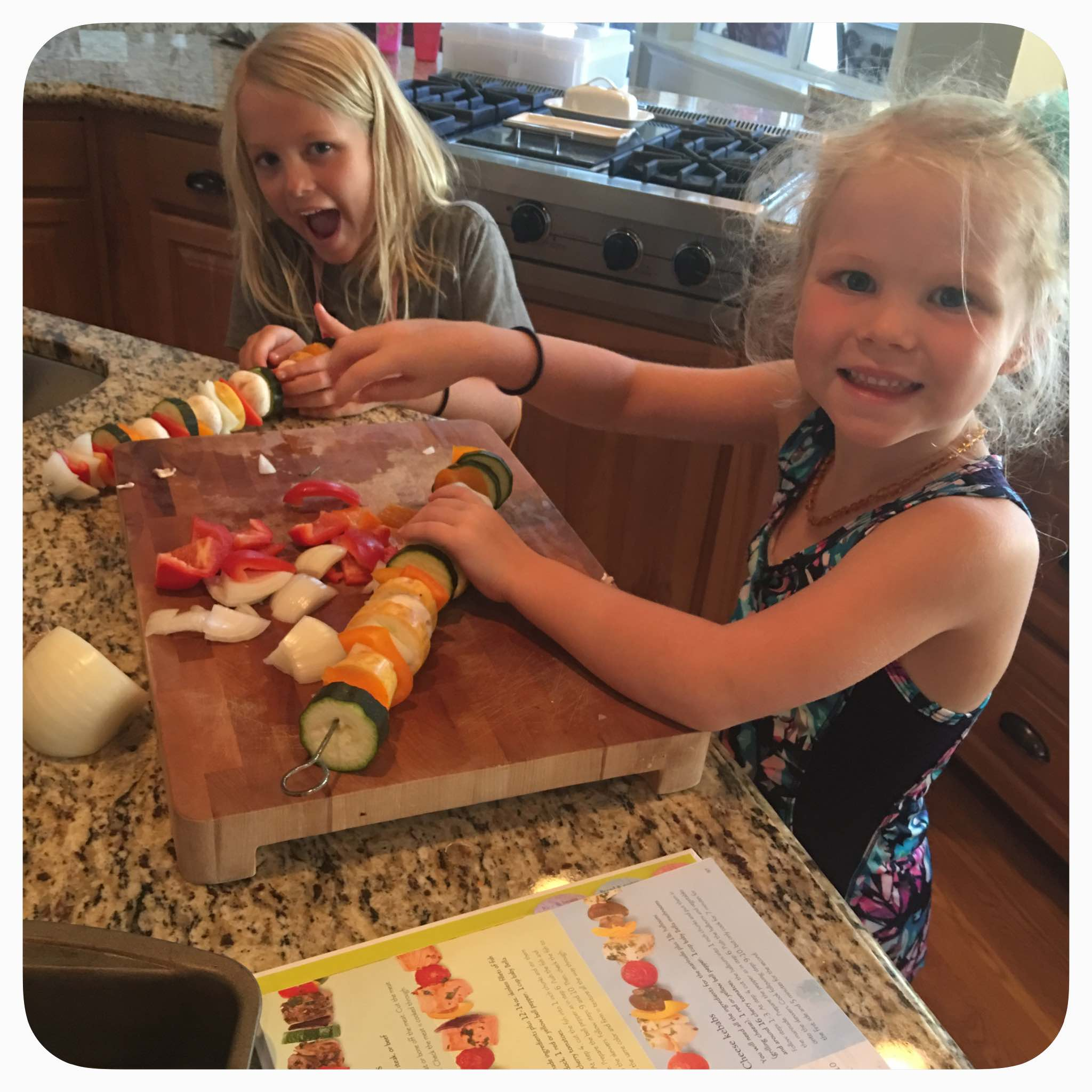 Kabobs for Kids: cooking with your children.
