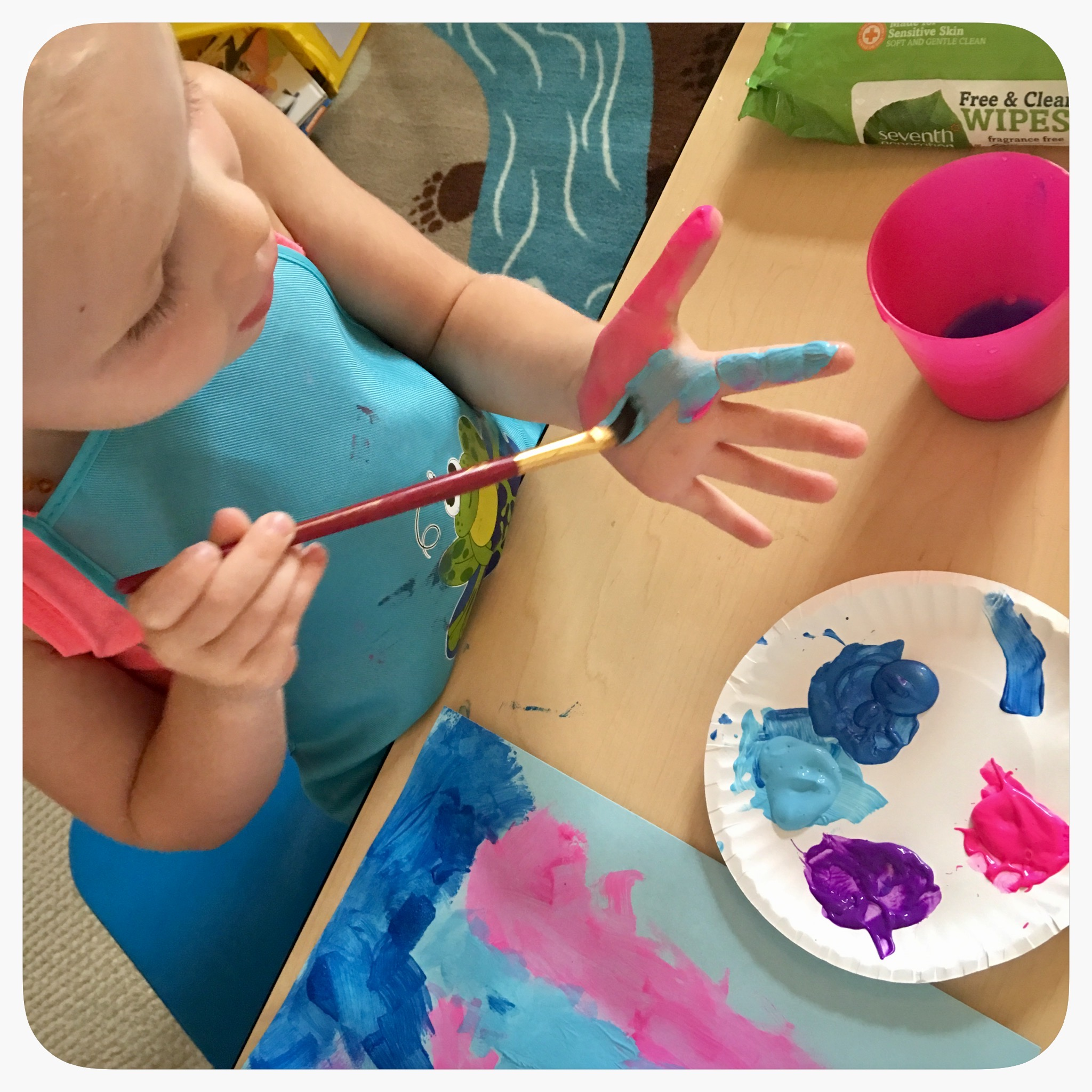 Invitation to Create: Picasso Painting