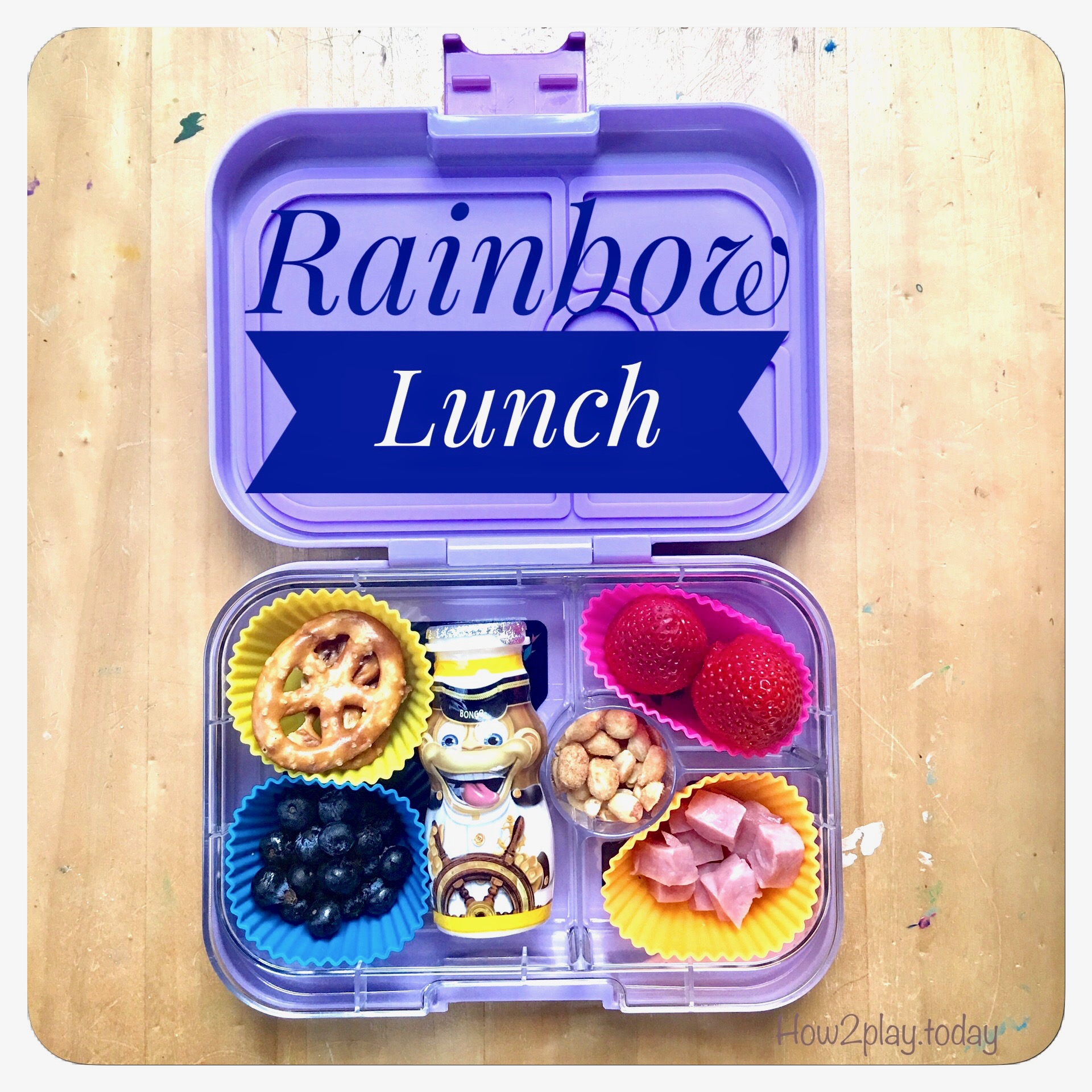 Colorful lunches help a #pickyeater eat more or even try new foods. Thanks @stellas_lunchbox for the recommendation on #yumbox !