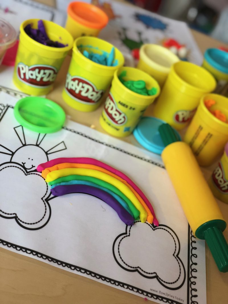 Play-dough Mats. 🎨 I love laminating pretty much Everything! Then we can use and reuse these mats for years... Great for cultivating imagination, fine motor skills, letter recognition, colors, numbers, and just some plain ol' FUN.