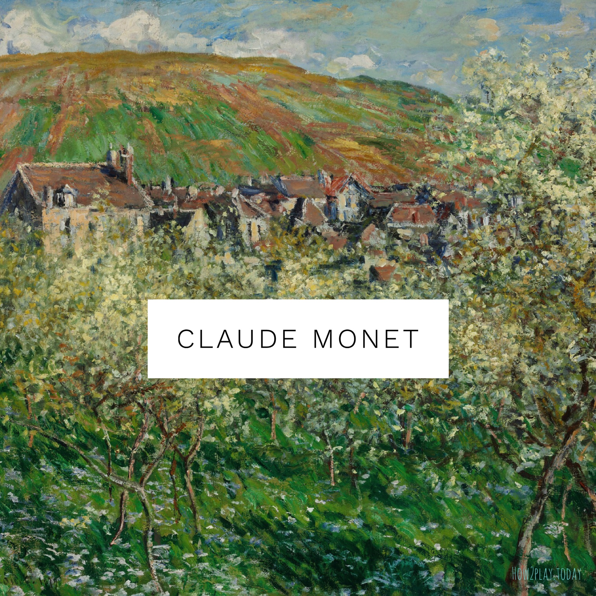 Claude Monet inspired art learning / lesson plans for kids. Come explore Expressionism for preschool and elementary age children. Children will learn Elements of Art, Principles of Design while having the freedom of creative expression.