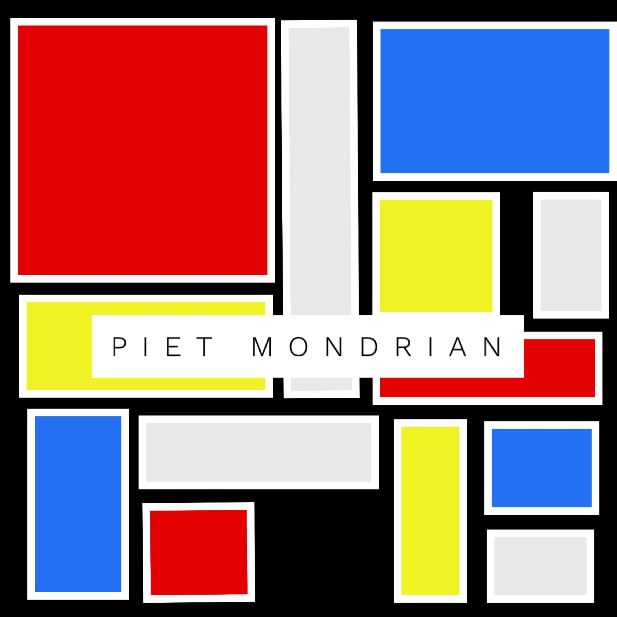 Piet Mondrian inspired art learning / lesson plans for kids. Come explore art learning plans for preschool and elementary age children. Children will learn Elements of Art, Principles of Design while having the freedom of creative expression.
