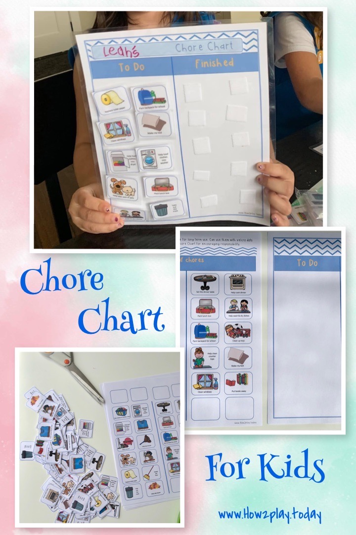 Chore Chart for Kids to encourage Responsibility and Structure Teach your child responsibility with these fun printouts of age appropriate chores. There are a multitude of benefits of a chore chart including an increase in self-esteem, self-confidence and structure. Print & Laminate for continued use. We also use these for our Girl Scout Daisy troop to encourage responsibility & earn their Marigold badge. This Chore Chart is perfect for preschoolers just learning about chores all the way through elementary aged children.