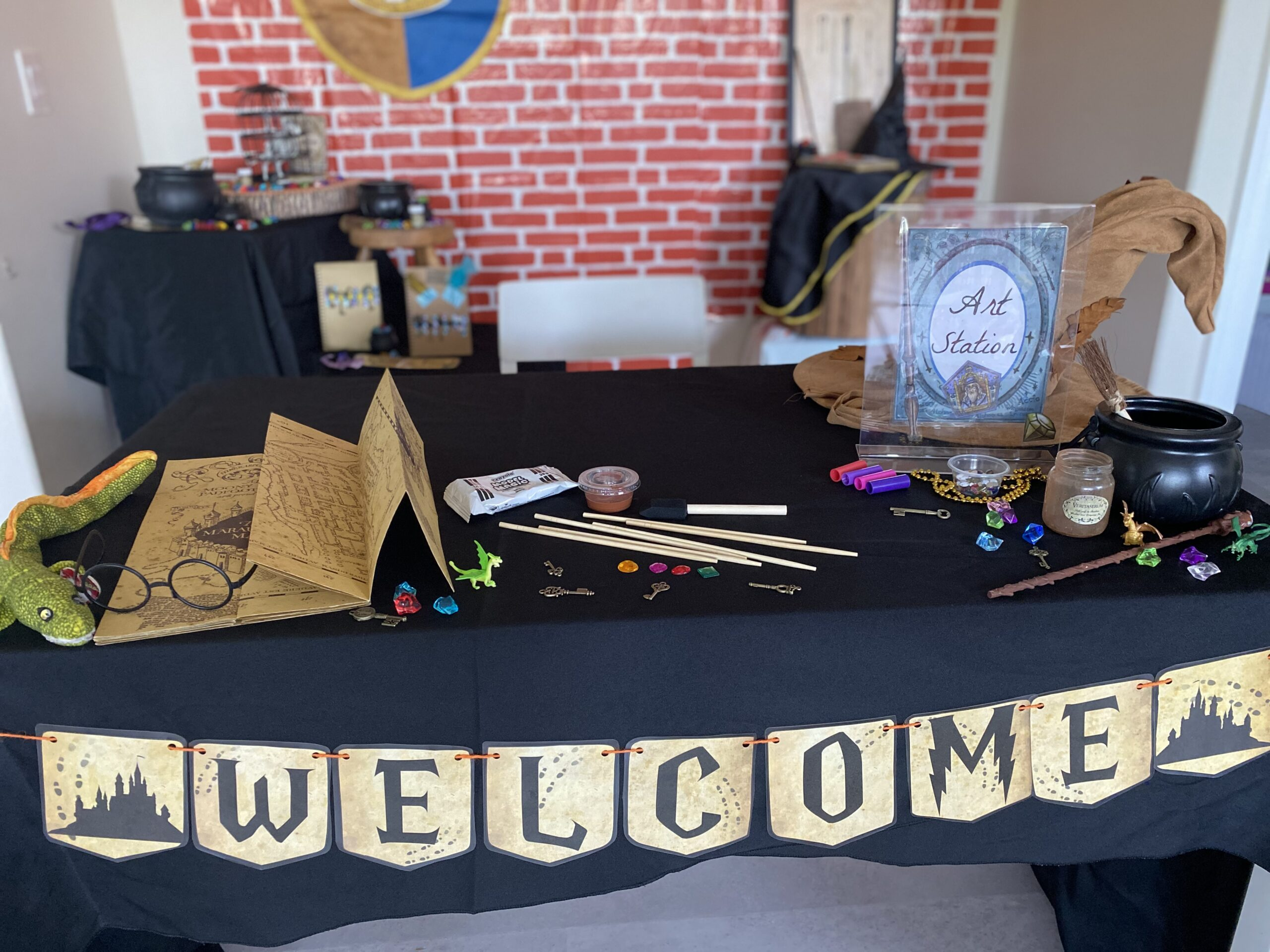 Wizardly Wonders summer camp: Come explore these simple and fun activities exploring creativity and pretend play.